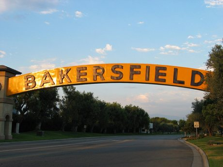 Golden Sign of Bakersfield