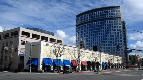 The Plaza Tower of Costa Mesa