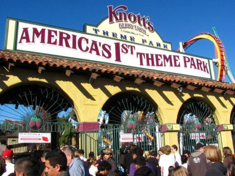 The Knott's Berry Farm Theme Park