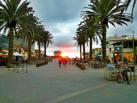 Sunset by the Hermosa Beach Pier