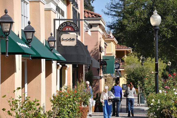 Quaint photo of Los Gatos - by donjd2