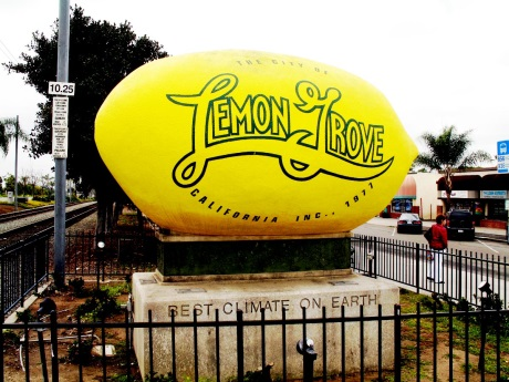 Worlds Largest Lemon - Courtesy of Allan Ferguson