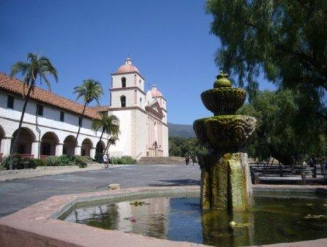 Entrace to the Santa Barbara Mission