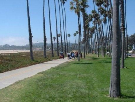 Cabrillo Bike Path - Santa Barbara's Boardwarlk