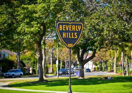 Famous Beverly Hills sign -- courtesy of Derek Purdy