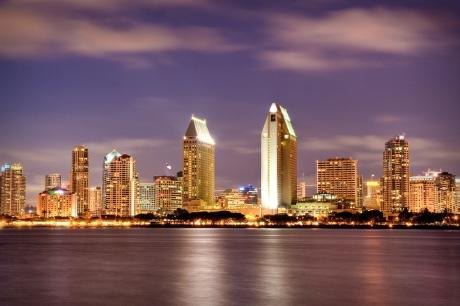 San Diego's gorgeous skyline -- courtesy of BobbyProm