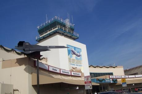 Burbank's Bob Hope Airport -- courtesy of Kevin