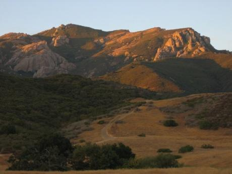Mount Boney from Newbury Park -- courtesy of Randy Son Of Robert