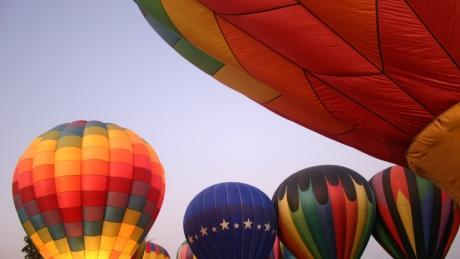 Citrus Classic Balloon Festival in Santa Paula, CA -- courtesy of respres