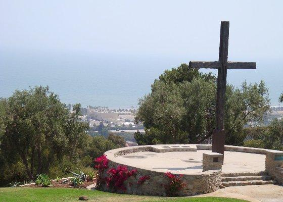The Cross overlooking Ventura