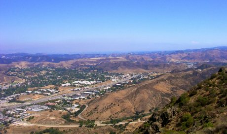 Agoura Hills - View From Ladyface Peak